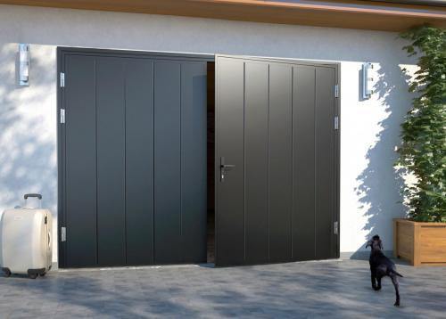 Atveriami garažo vartai